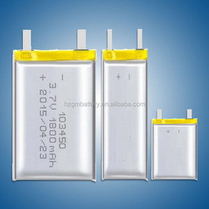 rechargeable 553485 3.2V 1000mAh High C-Rate 30C LiFePO4 Battery Cell