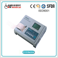 3 Channel Interpretive ECG Machine with CE