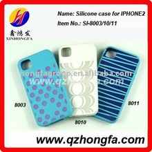 DIY silicone mobile phone cases