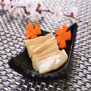 good quality pickled vegetable sliced seasoned dried bamboo shoot menma