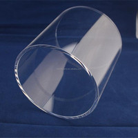 high purity fused quartz glass tube