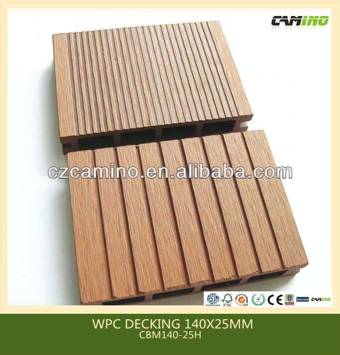 plastic wood composite outdoor prefab deck kits