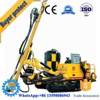 High efficiency power head water well drilling rig