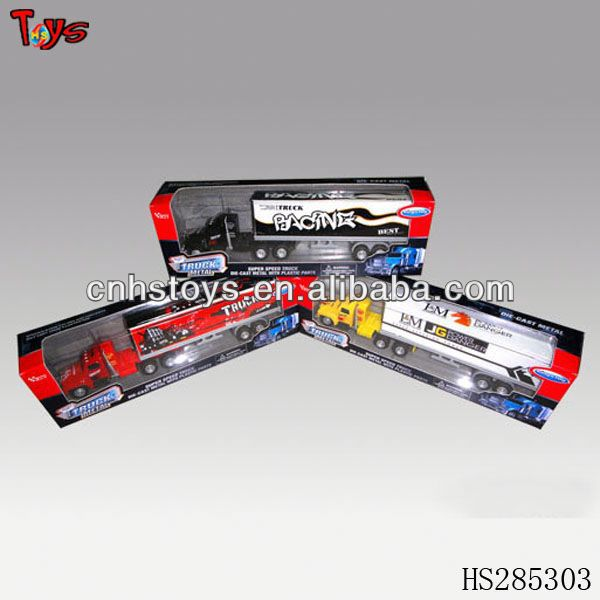 Hot!! Die cast car construction truck