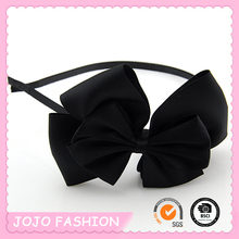 Big Fringe Grosgrain Bow Thin Hair Band Geisha Accessories for Hair
