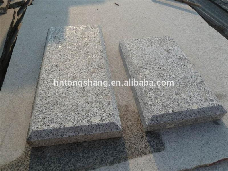 2016 hot sell silver grey flamed finish granite with fast delivery