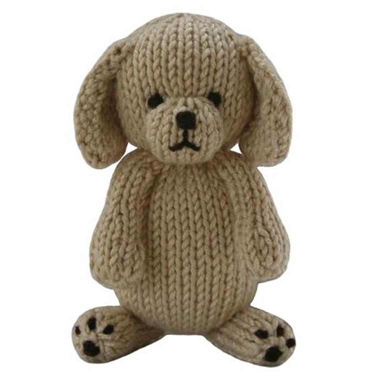 coton main tricot grosse t te chien en peluche en peluche jouets image animaux en peluche id de. Black Bedroom Furniture Sets. Home Design Ideas
