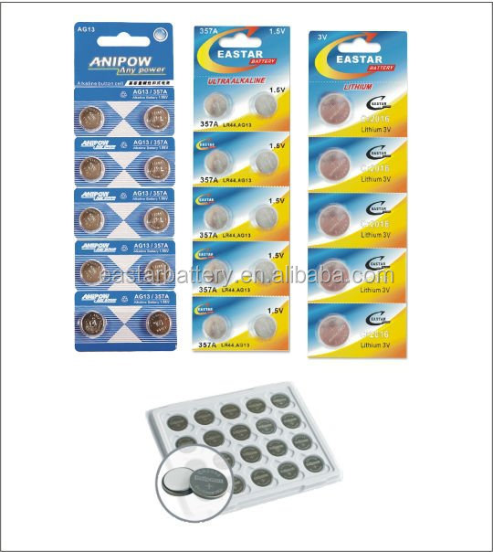 High Capacity LIR3048 lithium button cell battery 3.7v button cell