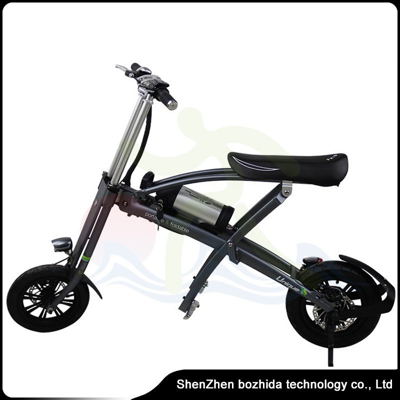 2017 New Brushless Motor 25km Per Hour Max Speed folding electric bicycle / ebike / bike