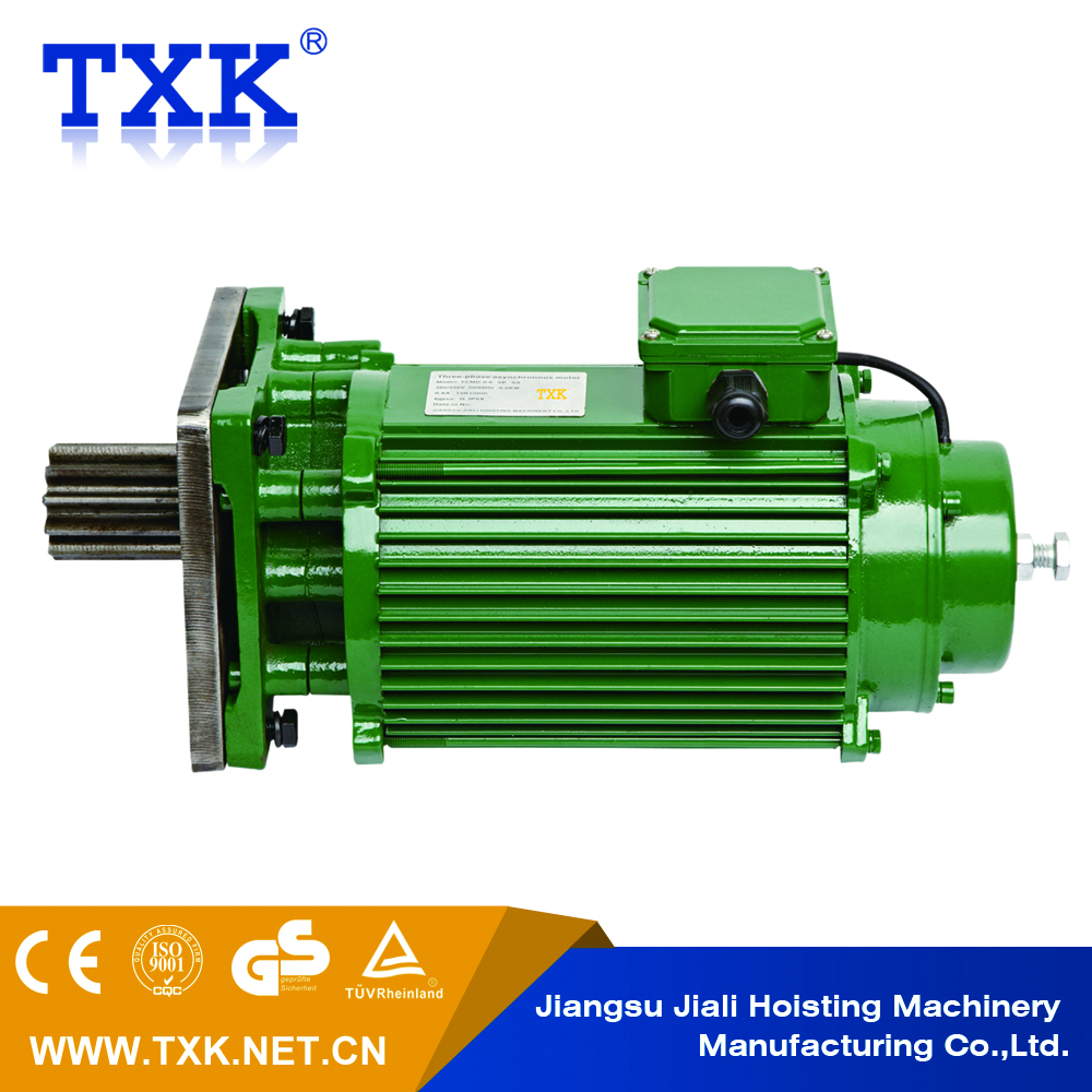 High Voltage Crane Slip Ring Three Phase Ac Electric Motor