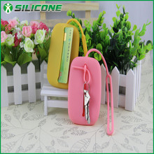 Hot sale promotion gift silicone wallets and purses spw-s06