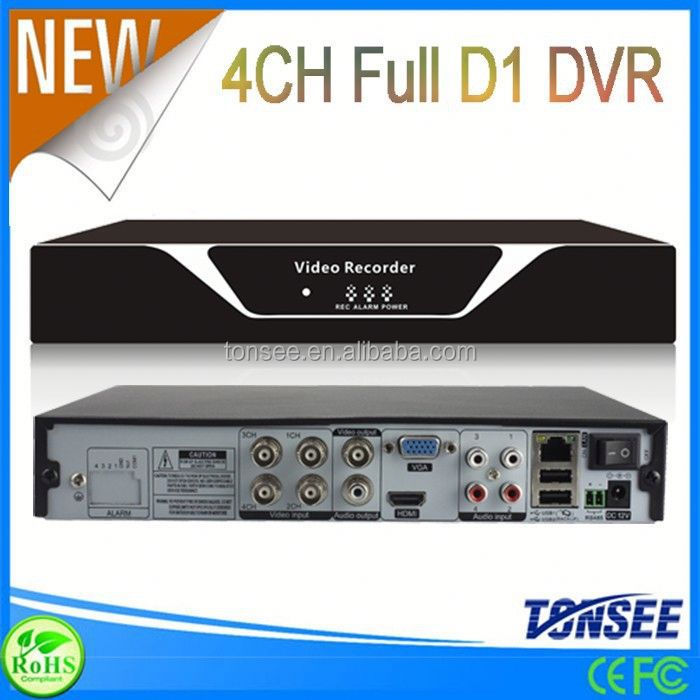 2015 New Digital Video Recorder embedded 4ch digital video recorder for home security cctv system