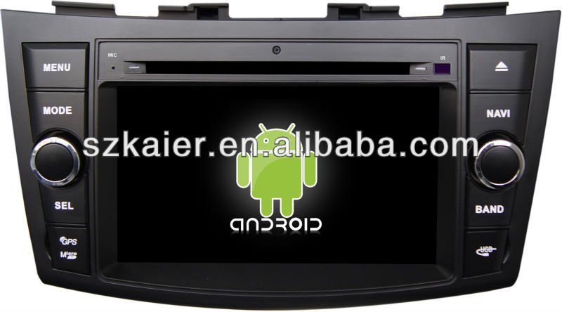 HOT!car dvd player for 4.2.2 version Android system Suzuki Swift