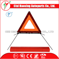 High quality and loewe price warning triangle /road safety signs /safety reflective triangle (Model:HX-D8A)