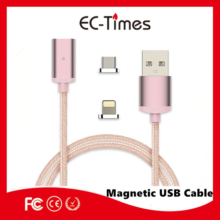 promotional Magnetic Micro Usb Cable Magnetic Charging Cable Magnetic USB Cable For moible phone
