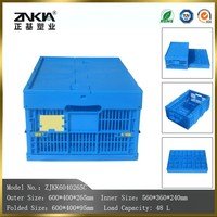 PP Material plastic transport crates for fruit or vegetable