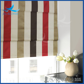 J.S.L Wholesale Luxurious Printed Roman Shades Supplies