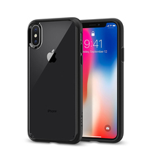 Ultra Hybrid Case with Air Cushion Technology and Hybrid Drop Protective Case for Apple iPhone X