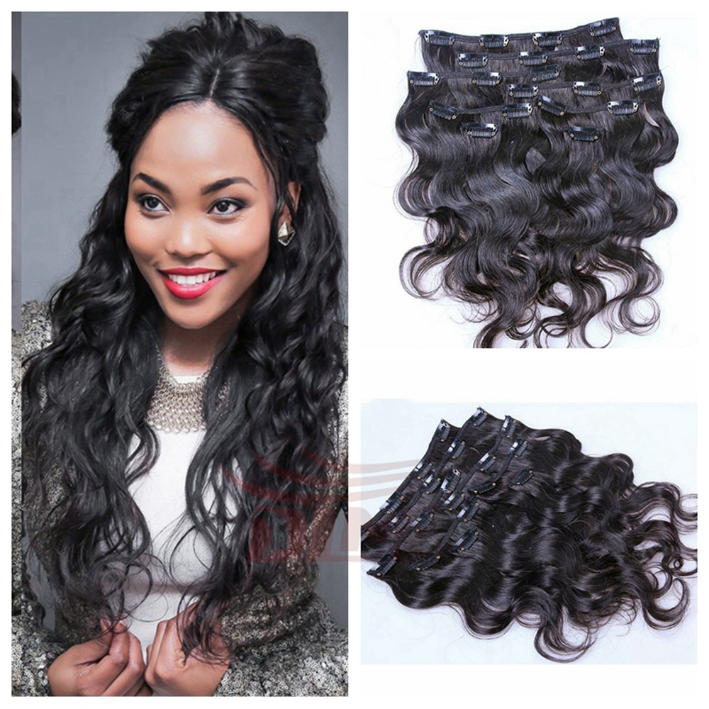 Wholesale Clip Hair Extension Wavy Online Buy Best Clip Hair