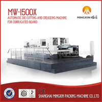 MW-1500X Lead edge feeding automatic die cutting and creasing machine
