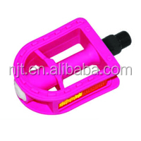 China factory red bicycle pedal with reflector made in china