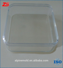 Custom design transparent plastic injection mold tooling decorate box mould