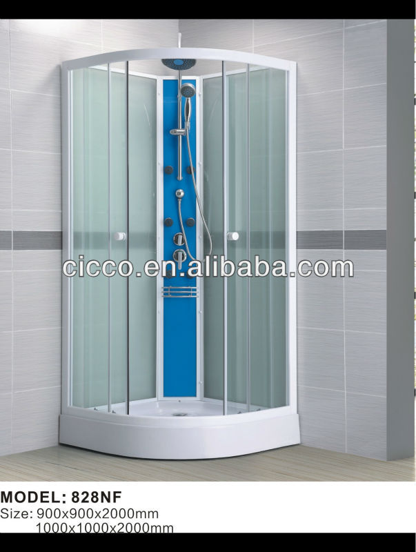 Tempered Glass Shower Wall Panels For Shower Cabin