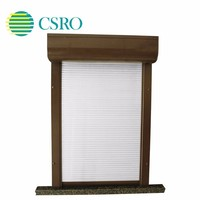 Vertical roller shutter anti-theft exterior electric high-end customized house windows