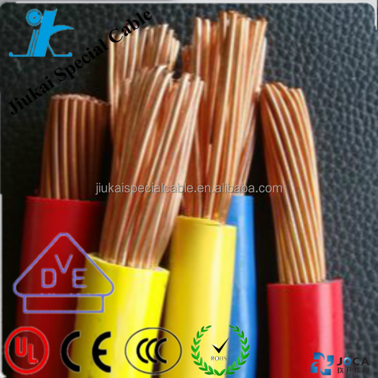 Hot selling H07V2-K single core cable wire classification standard