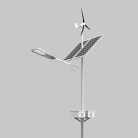 IP65 60W Outdoor Solar Road Light LED Wind Generator