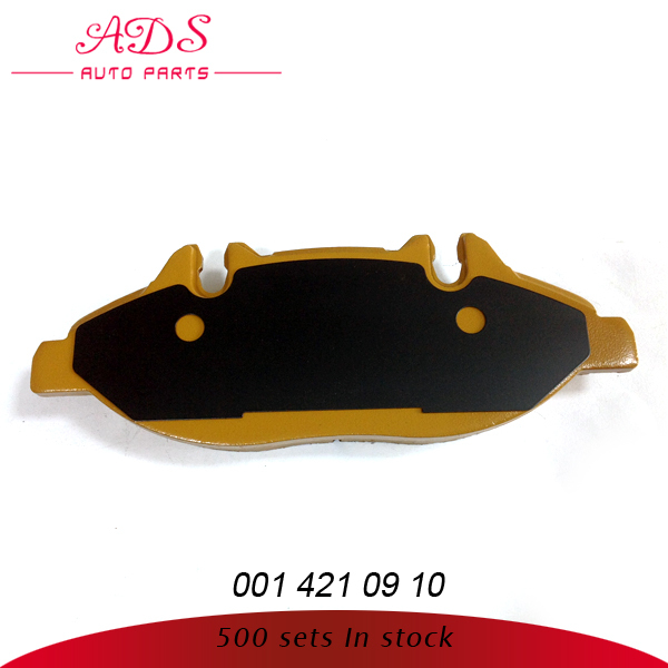 FOR VIANO high quality mercedes benz brake pads oem: 001 421 09 10