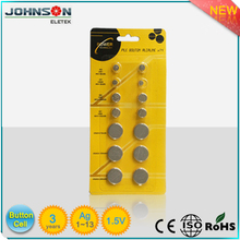 watch battery Alkaline AG13 1.5v button cell