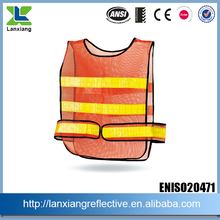 LX644-J road safety reflective vest riding mesh vest walking safety vest