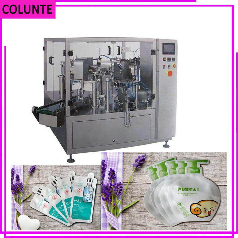 Cost-effective and natural facial mask filling machine