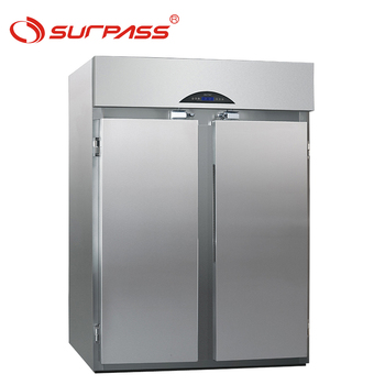 Hotel Supermarket Upright Refrigerator Freezer Storage Cabinet