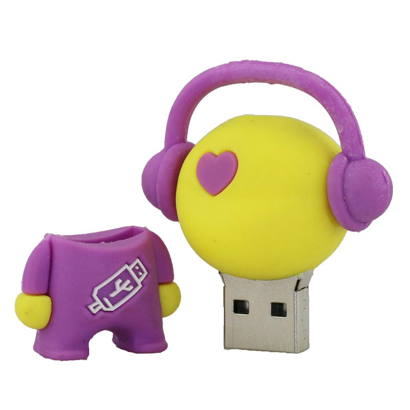 USB <strong>Flash</strong> Drive Real High Speed Musician Music Man 128MB Memory USB Stick Pen Drive PenDrive For PC