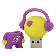 USB Flash Drive Real High Speed Musician Music Man 128MB Memory USB Stick Pen Drive PenDrive For PC