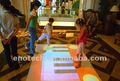 interactive floor for presentation, children games, shopping mall, events