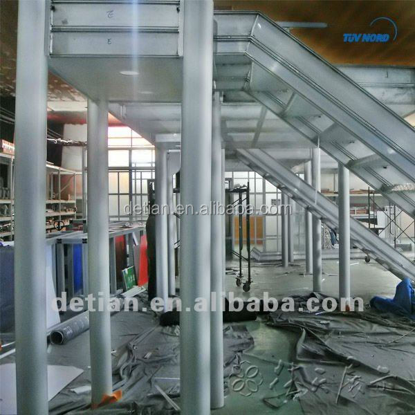 Two levels booth, double deck booth rental and construct in Shanghai, China