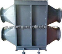 Industrial heat recovery exchanger, waste heat recovery unit