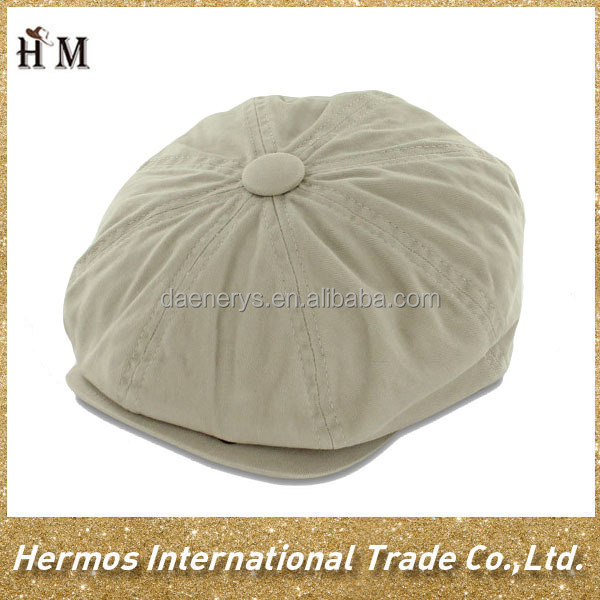 100% soft cotton promenade beret cabby ivy cap hat