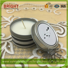 No Anti-dumping Duties Metal Tin Candle with Soy Wax