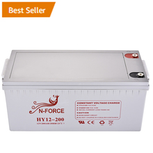 For solar energy system 12v solar battery 200AH
