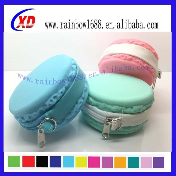 Women Girl Wallet Light color Jelly Silicone Coin Purse Kid Gift Silicone Wallet