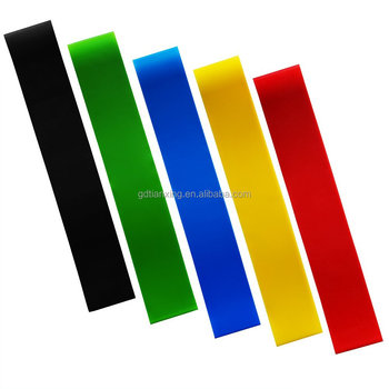 Gym Colorful Pull-up Fitness Mini Elastic Resistance Loop Band
