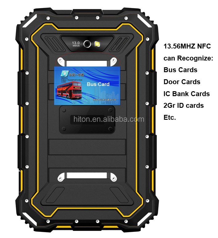 Cheapest Factory 7 Inch NFC Tough Tablet With 4G LTE 2G Ram 16G ROM Android5.1 Rugged Tough Panel PC IP68