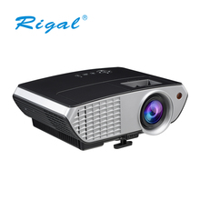 Hot sell mini LCD Projector 3D function 1080P home theater projector
