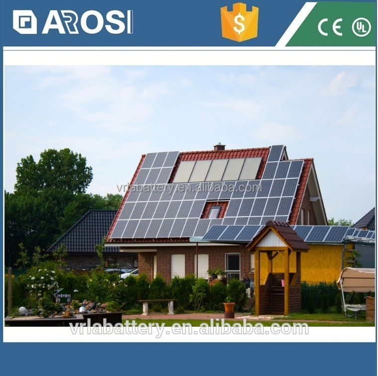 High temperature 2kw solar system for home central oxygen supply system