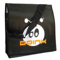 Cheap custom CMYK laminated shoulder bag , pp non woven shoulder bag