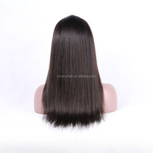 2017 New blue human hair wig best selling products in japan